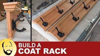 Making A Coat Rack