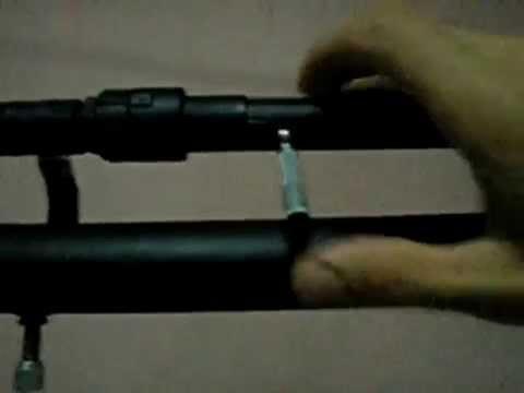 Arma de AR COMPRIMIDO caseira