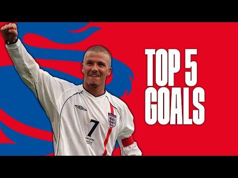 Xxx Mp4 David Beckham S Best England Goals Top Five 3gp Sex