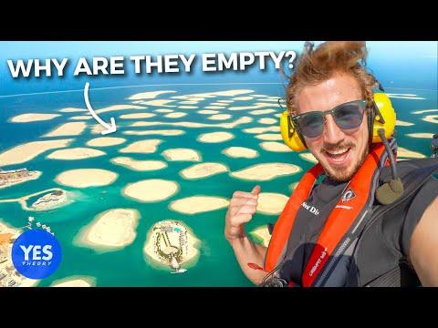 Exploring Dubai's Empty 13 Billion Man Made Islands