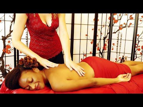 Heavenly ASMR Massage & Spa Treatment – Binaural Ear to Ear Whisper Relaxing Back Massage