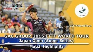 Japan Open 2015 Highlights: Joo Se Hyuk Vs Maharu Yoshimura (QF)