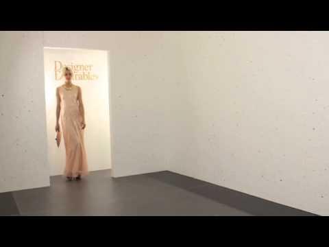 Lili London Nude Lace Open Back Maxi