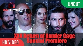 Download XXX Return of Xander Cage Grand Premiere | Reviews And Reactions | XXX 2017 3Gp Mp4