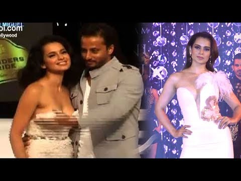 Xxx Mp4 Kangana Ranaut Saved From EMBARRASSING Moment In Front Of Media At Vogue Fashion Show 3gp Sex