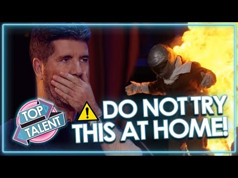 SUPER DANGEROUS AUDITIONS Send Judges Into Meltdown DON T TRY THIS AT HOME Top Talent