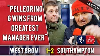 Pellegrino 6 wins from greatest manager ever! | West Brom 1-2 Southampton | The Ugly Inside