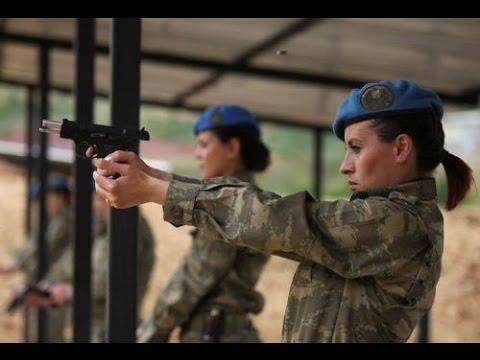 Tunceli Komando Tugayının Kadın Komandoları Erkek Meslektaşlarına Taş Çıkartıyor