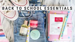 BACK TO SCHOOL ESSENTIALS 2017!  k-beauty + fashion must-haves