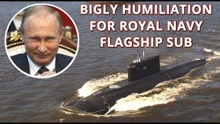 BIGLY WIN: Russian 'Black Hole' Subs Hunt $1.3bn British Submarine In