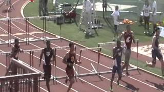 2013 wsu track at USC Ramsey Hopkins Josiah Sims 110 HH