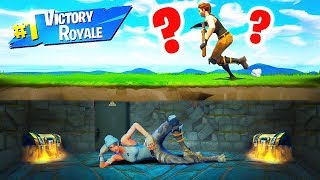 IMPOSSIBLE FORTNITE HIDING SPOTS! (Fortnite Battle Royale)