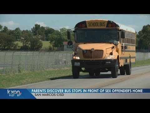 Xxx Mp4 Parents Discover San Marcos Bus Stops In Front Of Sex Offender's Home 3gp Sex