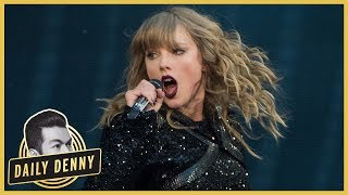 Taylor Swift Gets Stuck Mid-Air During Reputation Tour Performance | Daily Denny