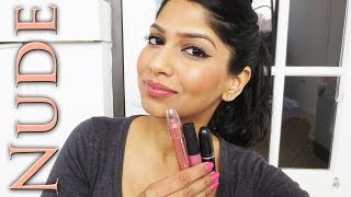 My Top Nude/Neutral/Pink lipsticks for Brown/Indian/Olive skin!