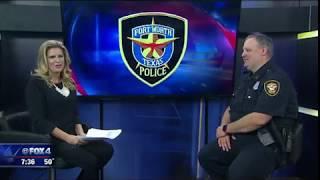 Officer Matt Pearce returns to work full time