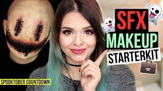 SFX (SPECIAL EFFECTS) MAKEUP STARTERKIT! - #SpooktoberCountdown
