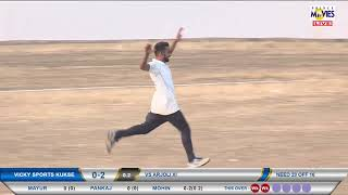 MOIN FIVE WICKET IN ONE OVER || EKTA TROPHY 2018 PADGHA || DAY 02 || PRINCE MOVIES