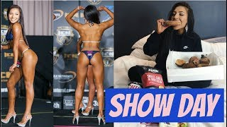 SHOW DAY! My First Bikini Competition | ICN All Female Classic 2017