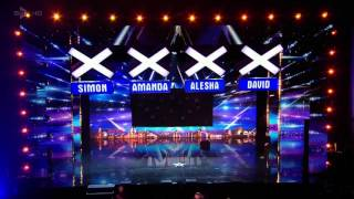 Electro Techno Dance Act Light Balance Britains Got Talent 2016 FULL HD