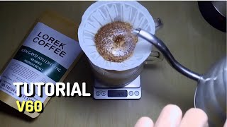 Cara membuat kopi dengan V60 di rumah! (Tutorial - Bahasa Indonesia)