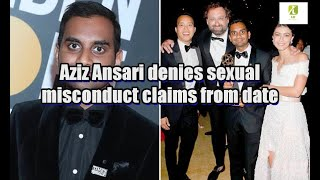 Aziz Ansari denies sexual misconduct claims from date