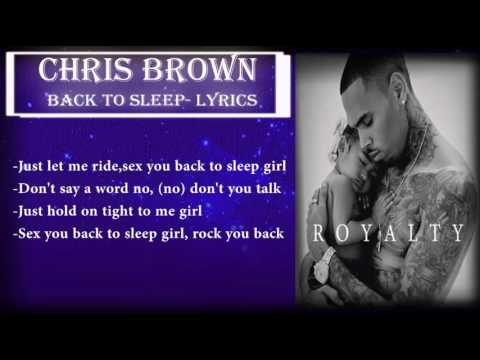 Xxx Mp4 Chris Brown Back To Sleep Girl Royalty Album 3gp Sex