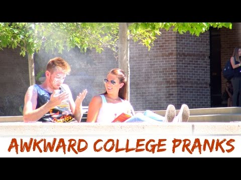 BEING AWKWARD AT COLLEGE