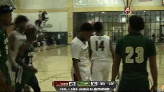 Salesian College Preparatory vs. St. Patrick-St. Vincent Boys Basketball  2/17/18