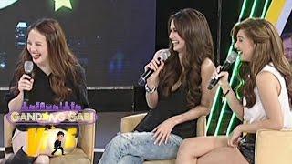 Arci, Ellen, Coleen reenact their roles in Pasion De Amor