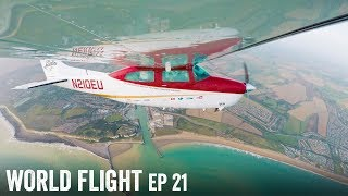 FLYING TO THE NEXT COUNTRY! - World Flight Episode 21