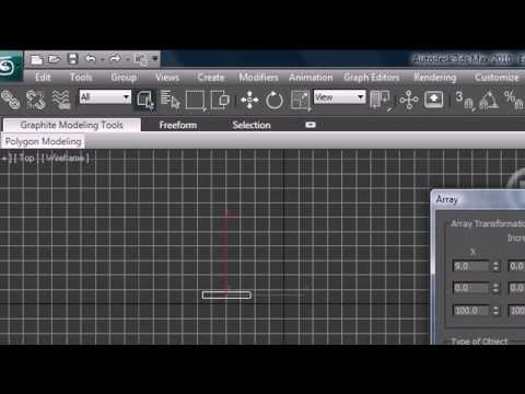 3Ds Max Tutorial 8 Cloning and Arrays