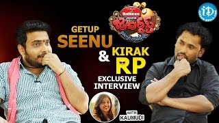 Jabardasth Comedians Getup Seenu and Kirak RP Exclusive Interview || Talking Movies With iDream #264