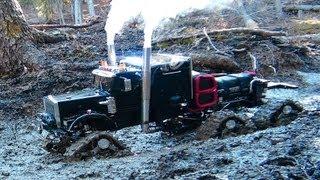 Download RC ADVENTURES - Muddy Tracked Semi-Truck 6X6X6 HD OVERKiLL & 4X4
