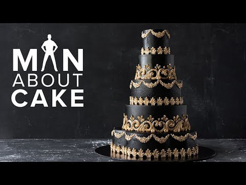 CakeSlayer Halloween GOTHIC WEDDING CAKE Man About Cake with Joshua John Russell