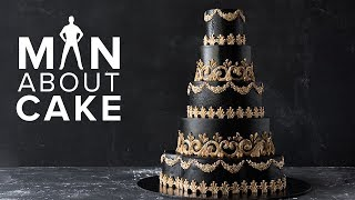 #CakeSlayer Halloween: GOTHIC WEDDING CAKE   Man About Cake with Joshua John Russell