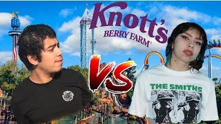 BF vs GF | Who could WIN more prizes at Knott's Berry Farm?