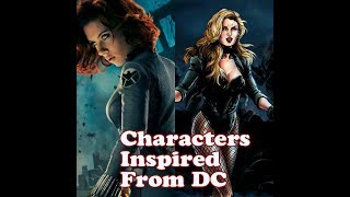 10 Marvel's Characters Inspired From DC | Amazing Top 10