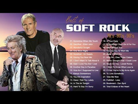 Lionel Richie Phil Collins Air Supply Chicago Rod Stewart Bee Gees Best Soft Rock 70s 80s 90s