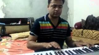 Oriya song on piano/abhimanini e amania dheu