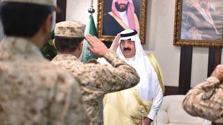 سمو الأمير متعب بن عبدالله يستقبل في مقر الوزارة المهنئين بعيد الفطر المبارك ١٤٣٨هـ