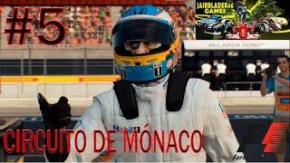 F1 GP  MÓNACO 2016 MONTECARLO -  CLASIFICACIÓN Y CARRERA- ESPAÑOL - F1 2015 PC -ALONSO