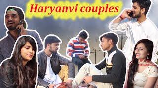 Haryanvi Couples | Haryanvi comedy | Feat. FunnyZaade