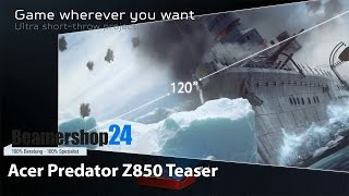 Acer Preadator Z850 Teaser