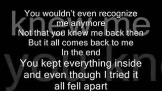 In The End-Linkin Park with lyrics