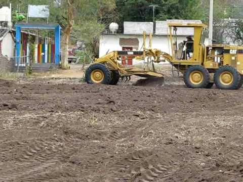 Nivelacion de terreno