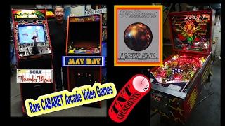 #1220 Sega THUNDER BLADE-Hoei MAYDAY Cabaret Arcade Video Games-Laser Ball Pinball TNT Amusements