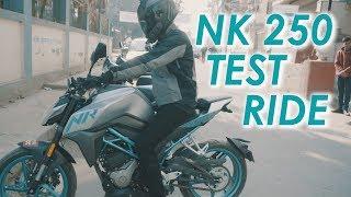 CF MOTO 250NK | TEST RIDE | MOTOVLOG | VLOG | NEPAL