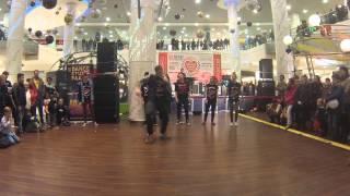 Replay Dance Studio na WOŚP w CH Galaxy - solówki freestyle