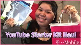YouTube Starter kit Haul  - Camera, lighting, ect. | Fearless Fatgirl |